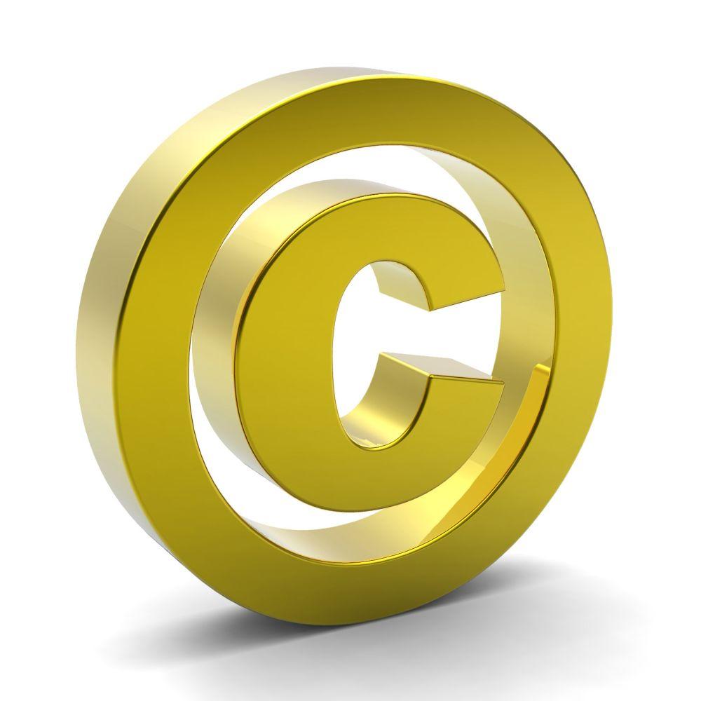 gold-copyright-symbol